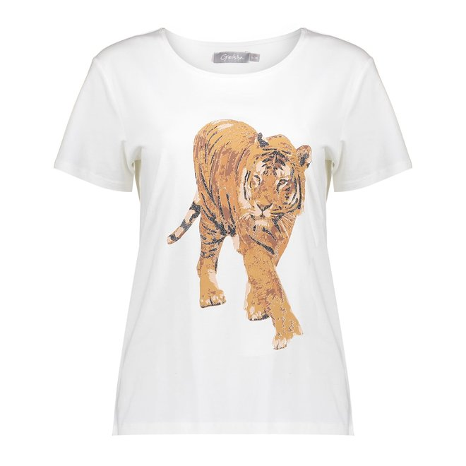 T-SHIRT TIGER 12602-25 OFFWHITE