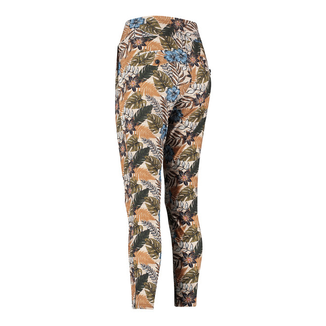 STARTUP JUNGLE TROUSERS 06025 OFFWHITE/GREEN