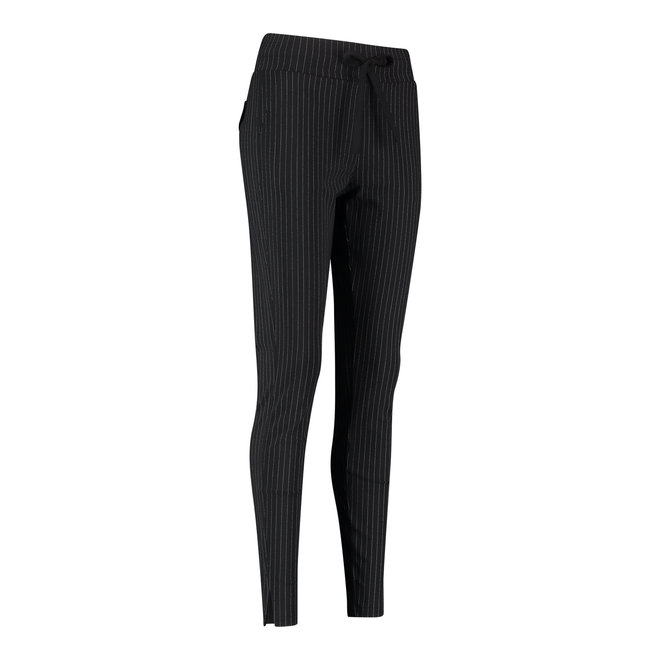 DOWNSTAIRS PINSTRIPE TROUSERS 94747 BLACK/WHITE