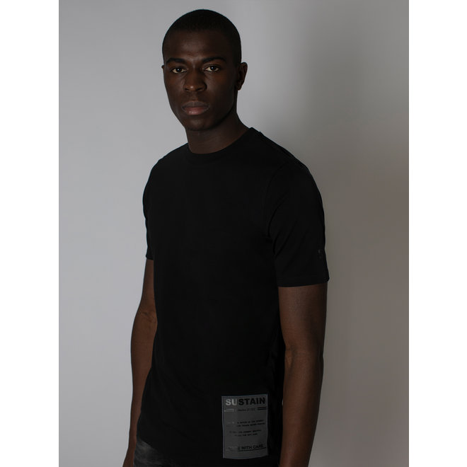 CARE REGULAR T-SHIRT S 8-410 2105 BLACK