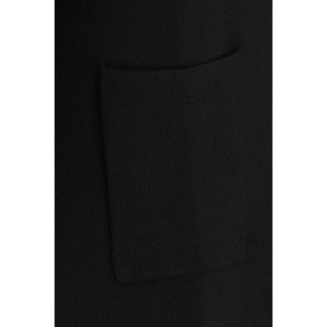 ROBINE BASIC CARDIGAN 05974 BLACK