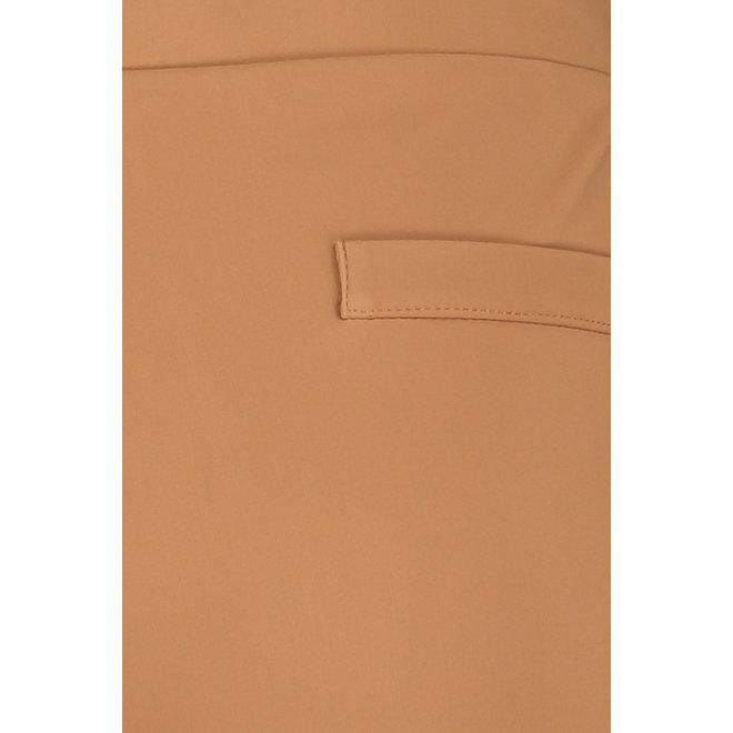 KATE BONDED TROUSERS 06160 CARAMEL