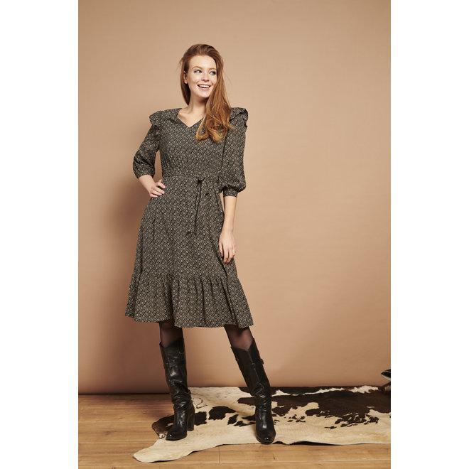 DRESS 21520 BLACK