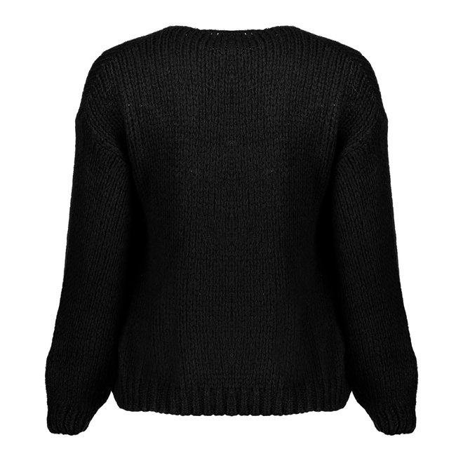 CARDIGAN 14625-70 BLACK