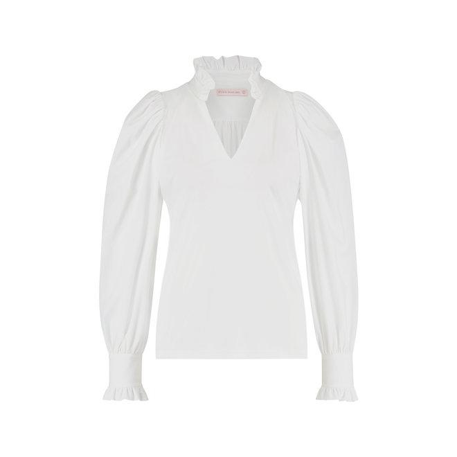 ROSELLA BLOUSE 06676 WHITE