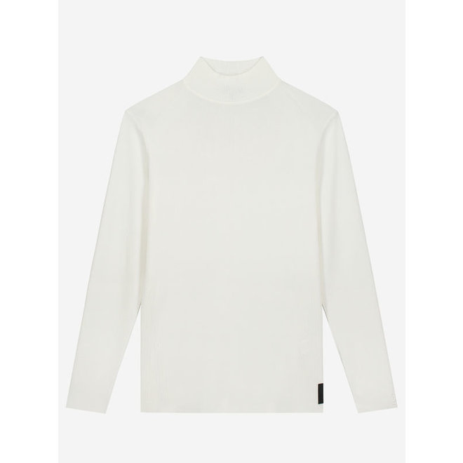 HIGH NECK KNIT S 7-390 2105 OFF WHITE