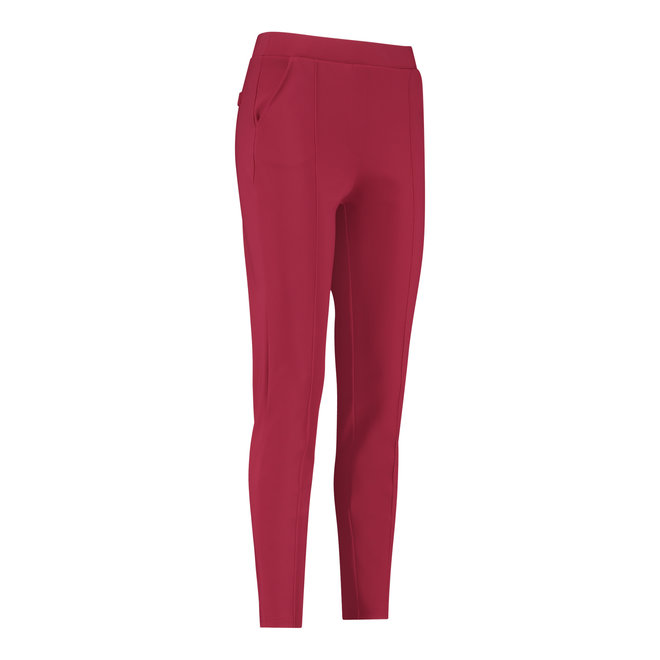 KATE HEAVY TROUSERS 06340 DEEP RED