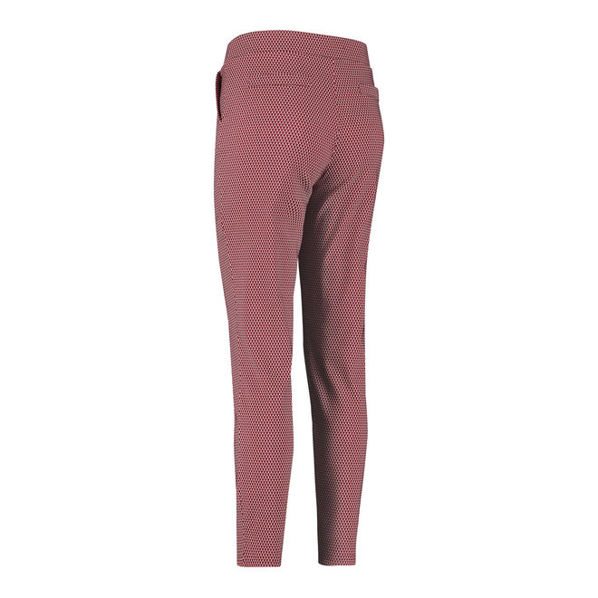 KATE WIEBER TROUSERS 06379 DEEP RED