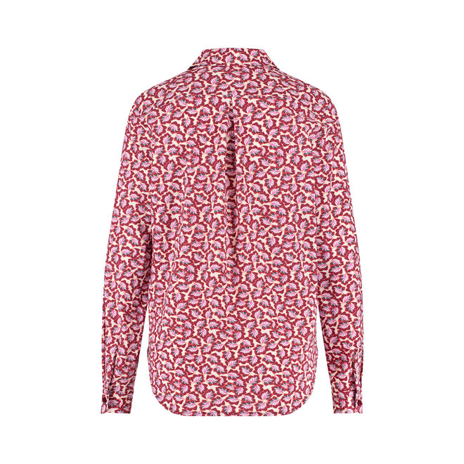 JET LEAF BLOUSE 06353 OFFWITE/CYCLAAM