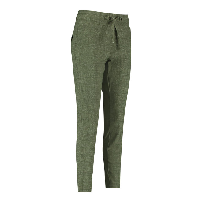 STAIRSUP CHECK TROUSERS 06363 GREEN