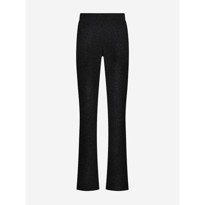SPARKLING FLARE PANTS BLACK N 2-433 2106