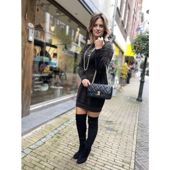PARIS DRESS BLACK N 7-442 2106