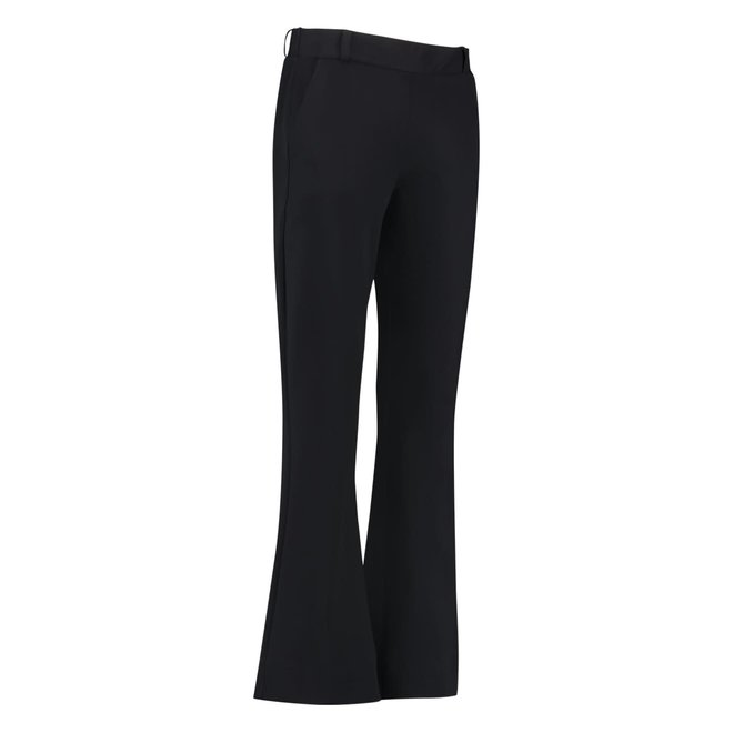 FLAIR BONDED TROUSERS 02309 BLACK