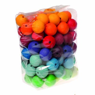 Grimm's Grimm's 96  coloured Beads, 30mm