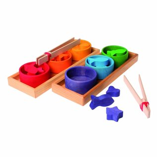 Grimm's Grimm's Sorting Game Rainbow Bowls