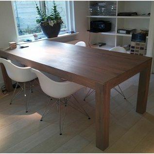 Van Nellie Handgemaakte eiken houten tafel