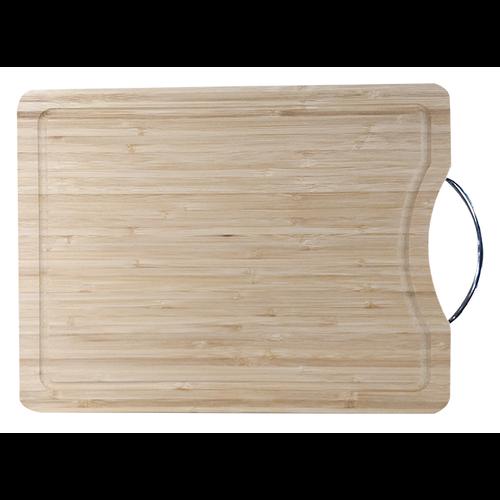 Rechthoekige serveerplank bamboe met gepersonaliseerde gravering