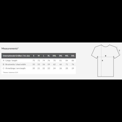 Bedrukte heren T-shirt