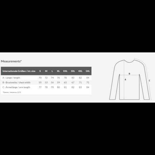 Bedrukte heren trui met eigen ontwerp
