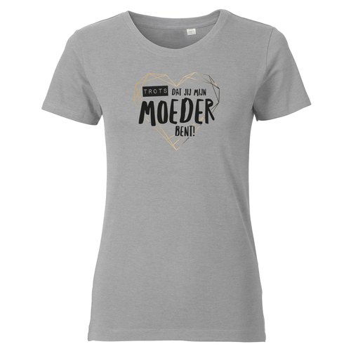 Bedrukte dames T-shirt met eigen ontwerp