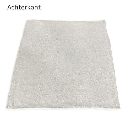 Geborduurd  sherpa fleece deken met naam