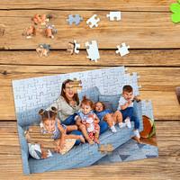 Puzzel bedrukt met foto en tekst 120 stukjes