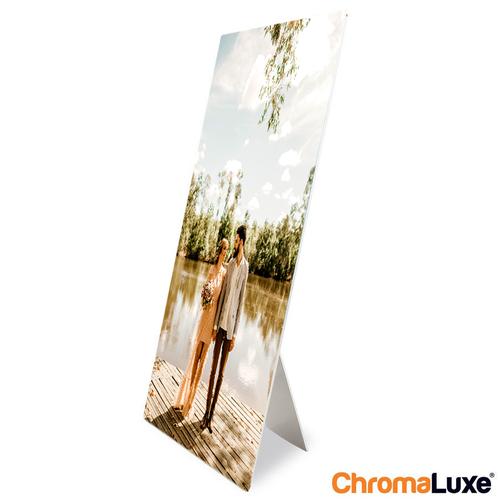 Aluminium fotopaneel bedrukt met foto en tekst 20 x 30