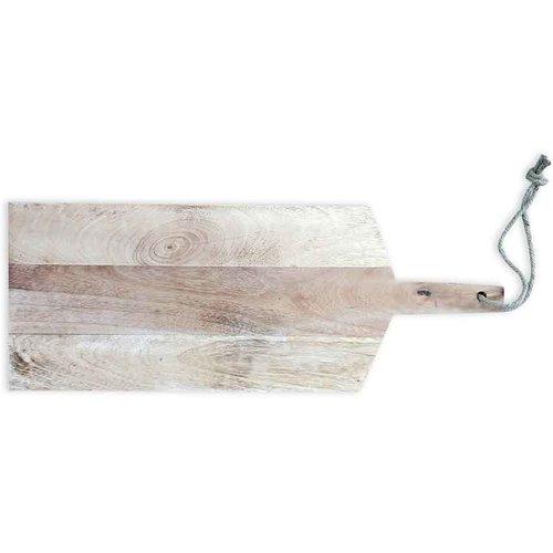 Serveerplank rustiek mangohout met gepersonaliseerde gravering