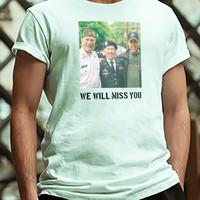 Heren T-shirt bedrukt met eigen ontwerp
