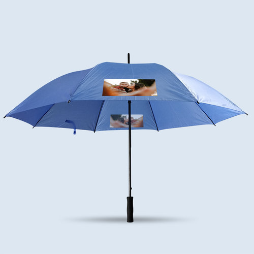 Paraplu XL met foto, tekst en illustratie