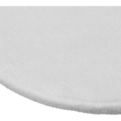Ovale badmat met foto en tekst
