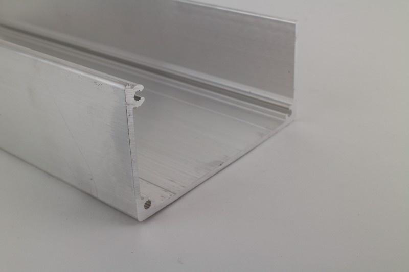Bakgoot aluminium