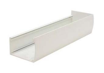 Aluminium siergoot gebroken wit (RAL9010)