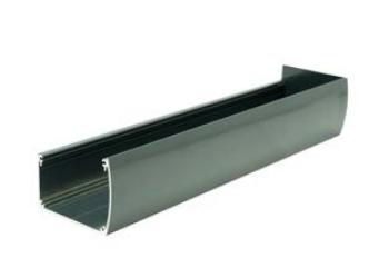 Aluminium siergoot antraciet (RAL7016)