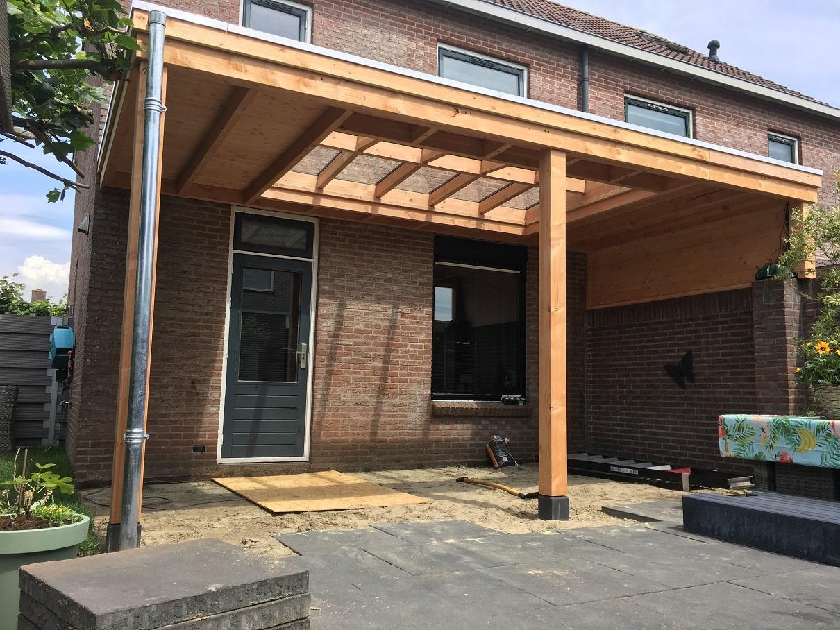 Terrasoverkapping Muuraanbouw Modern