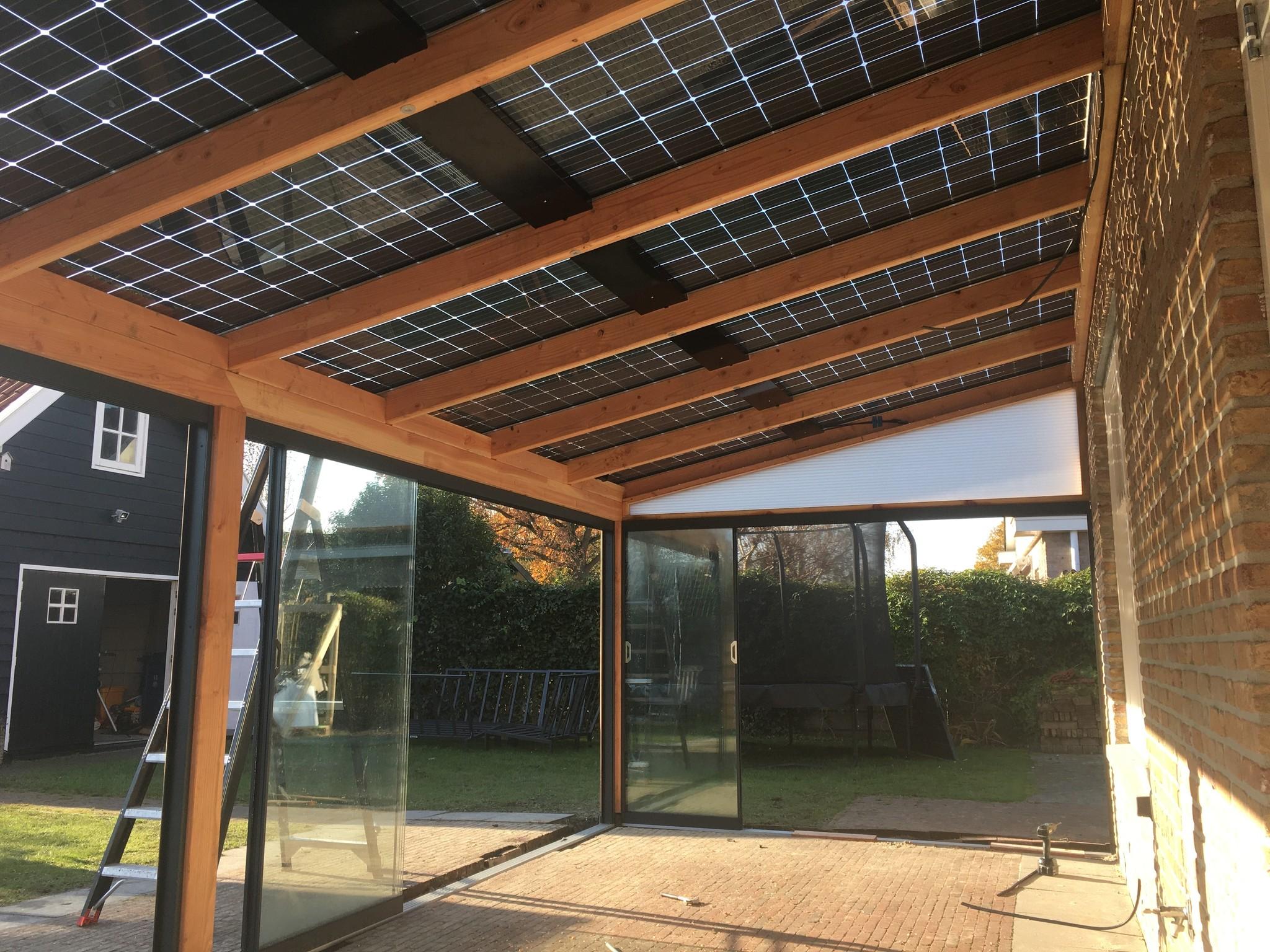 Solar Veranda muuraanbouw