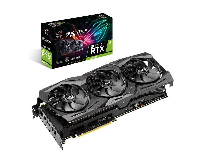 ASUS ROG Grafikkarte ROG STRIX RTX2080 SUPER A8G-GAMING