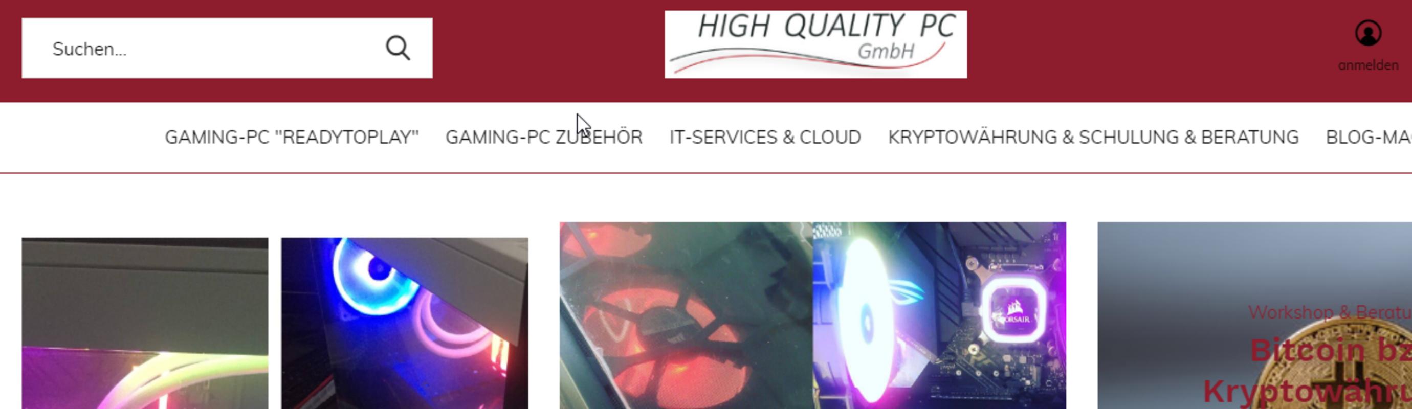 Neuer Onlineshop und damit neue Homepage