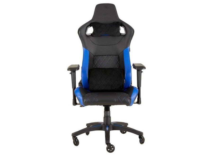 Höhenverstellbar, Farbe: Schwarz; Blau, Material: PU-Leder; Nylon; Metall; Kaltschaum, Belastbarkeit: 120 kg