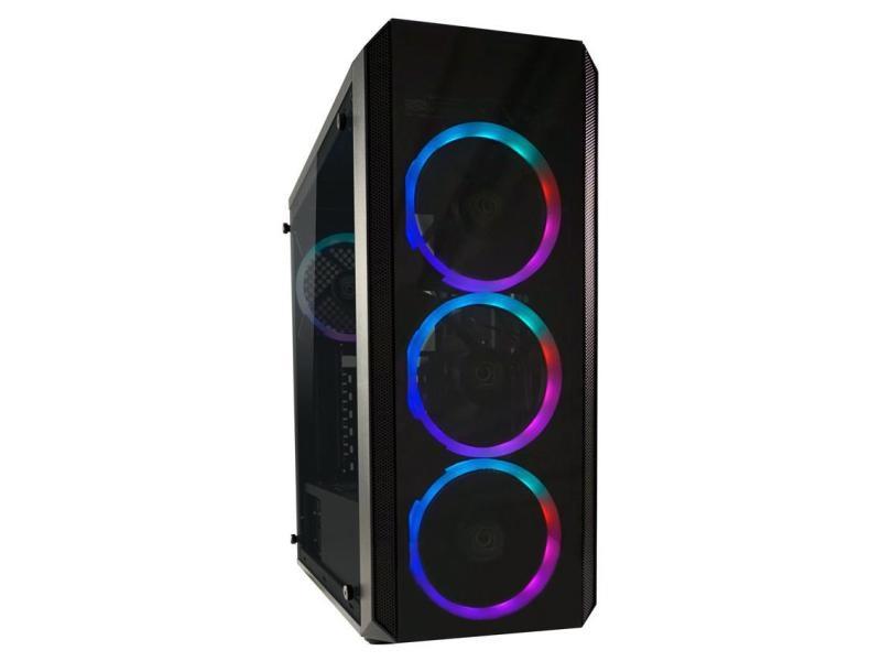 LC-Power PC-Gehäuse Gaming 703B - Quad-Luxx