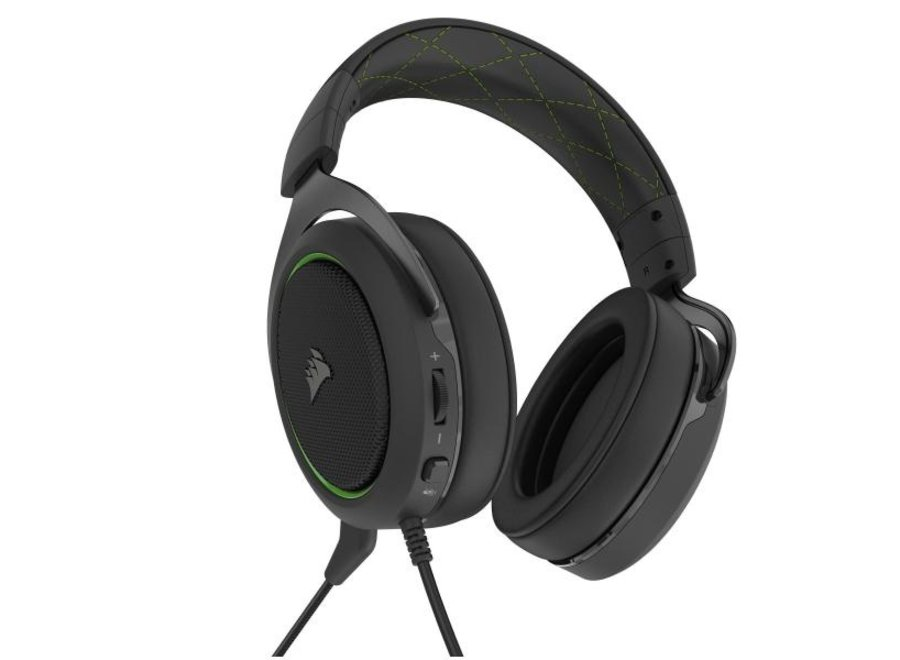Corsair Headset HS50 Pro Stereo Wired Grün