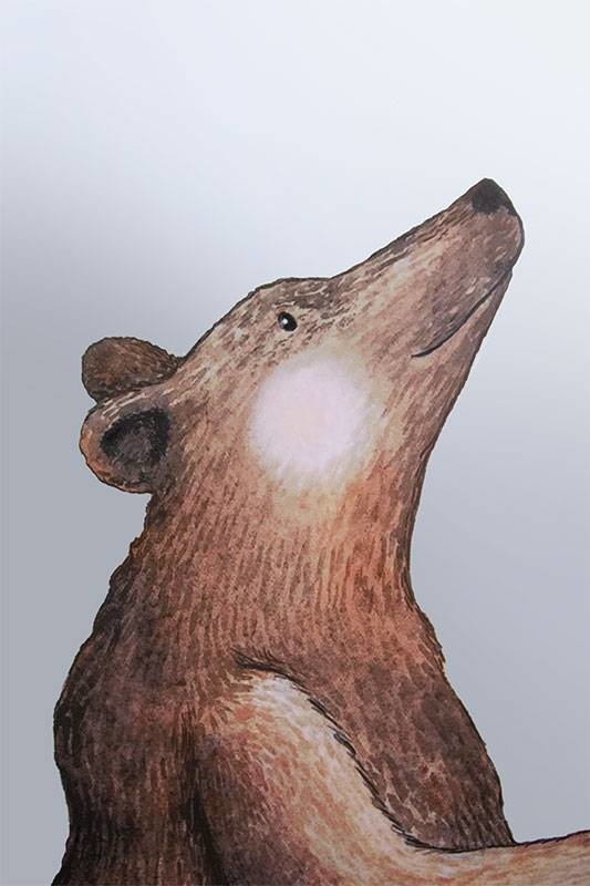 Großer Bär Sticker-4