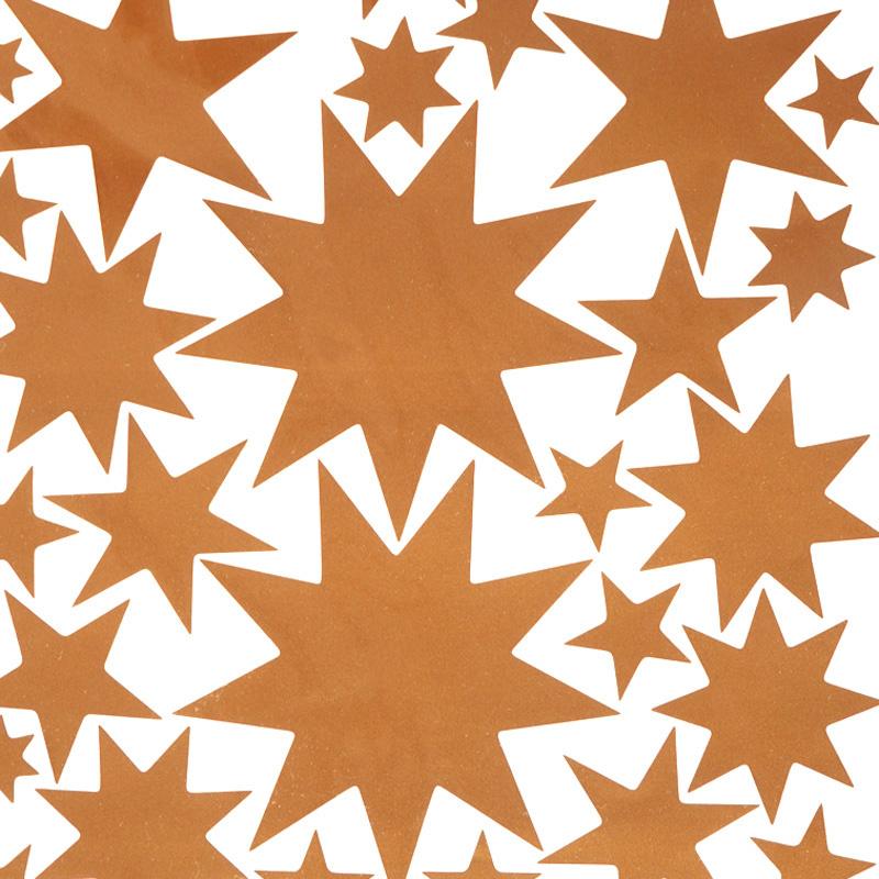 Sternensticker Kupfer-3