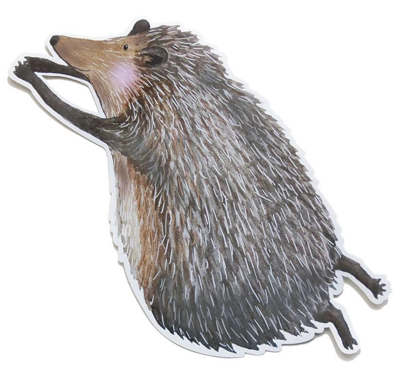 Kleiner Igel Wandsticker-1