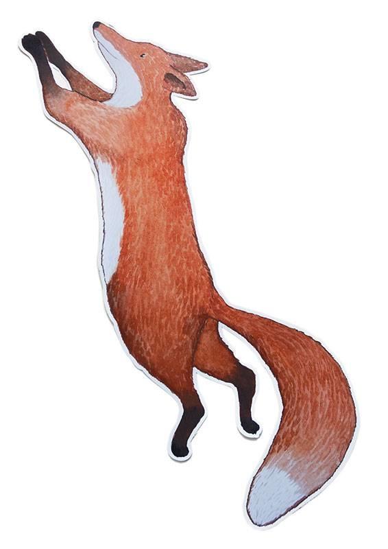 Kleiner Fuchs Sticker-1