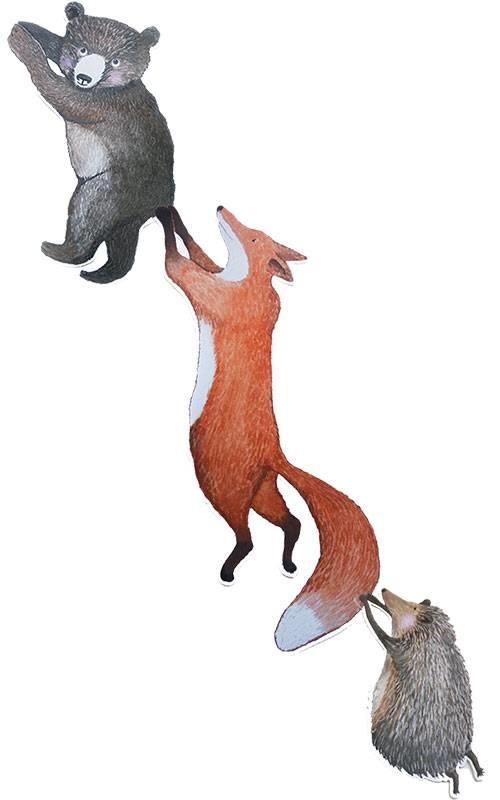Kleiner Fuchs Sticker-3