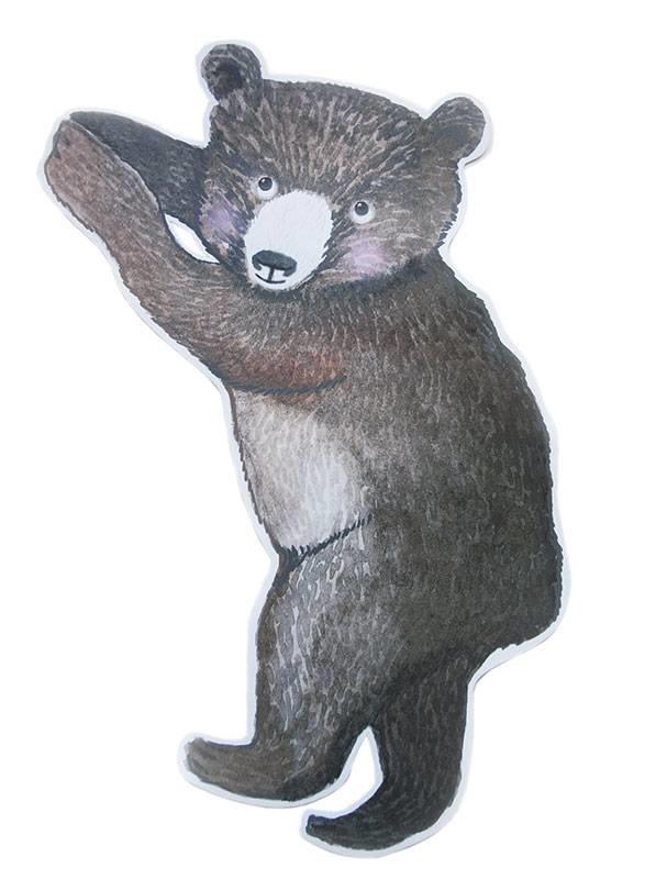 Kleiner Bär Sticker-1