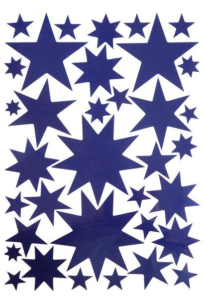 Sternensticker Nachtblau