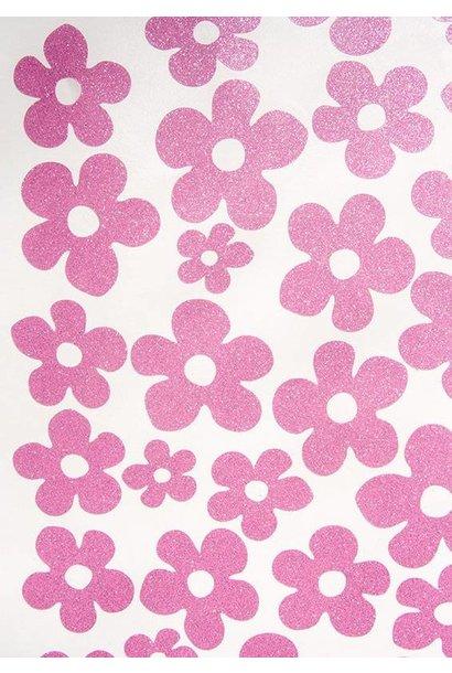 Blumen Aufkleber