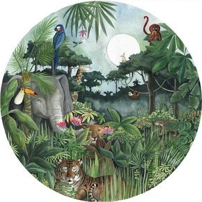 Regenwald Tapetenkreis